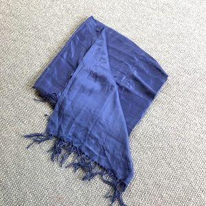 Cornflower Blue Pashmina Cashmere Scarf